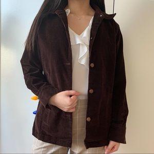Bill Blass Brown Corduroy Jacket